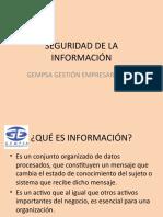 EXPOSICION SEGURIDAD DE LA INFORMACIÓN V2