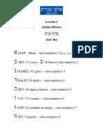Lección 1 y 2 de hebreo clasico.pdf