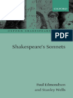 Shakespeare's Sonnets (Oxford Shakespeare Topics) ( PDFDrive.com ).pdf