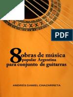 8 Obras de Música Popular Argentina (Guitar)