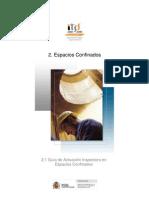 Guía de Actuación Inspectora en ESPACIOS CONFINADOS