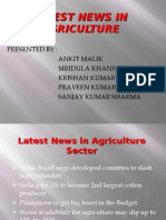 Latest News in Agriculture