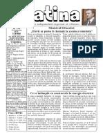 Datina - 13.01.2021 - prima pagină