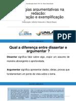 MATERIAL-DA-AULA-03-ESTRATÉGIAS-ARGUMENTATIVAS-EXEMPLIFICAÇÃO-E-COMPARAÇÃO