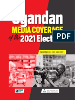 Uganda Media Coverage of the 2021 Elections - December 2020