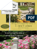Snug Cottage Hardware Catalog 2011