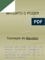 MANDATO O PODER EN GUATEMALA