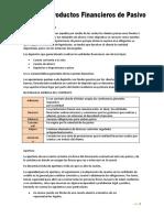 TEMA 3 PRODUCTOS FINANCIEROS DE PASIVO