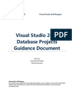 Visual Studio 2010 Database Projects Guidance Document