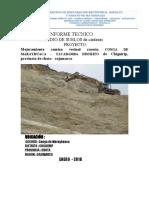 INFORME TECNICO  CANTERAS - CONGA DE MARAYHUACA