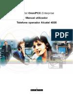 Alcatel OmniPCX Enterprise Manual utilizador Telefone operador Alcatel 4035.pdf