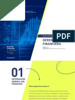 Plan de estudios Especialización en Gerencia Financieraa