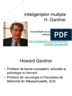 Teoria Inteligentelor Multiple