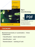 Part I - Chapter 1 - Introduction and Bacterial Taxonomy - File B