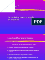Le marketing dans un monde en evolution