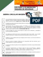 Sierra Circular Madera