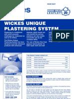 Wickes Plaster
