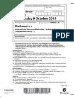01b-Core-Mathematics-12-October-2019