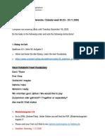 Aufgaben zum Selbststudium (KW 48)