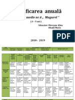 Planificare Anuala Medie 2018 2019