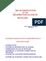 purification gaz recyclage