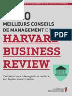 Les 150 Meilleurs Conseils de Management de La Harvard Business Review