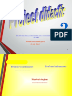 Proiect didactic IAC