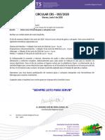 20200522 - Circular CRS-003-20 - Inicio Barras Blancas