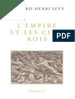 L'Empire et les cinq rois - Bernard-Henri Levy.epub