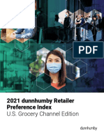 Dunnhumby-2021 Retailer Preference Index-Grocery Channel Edition