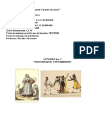 Crucigrama de Castellano Costumbrismo