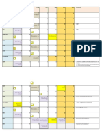 Academic Calender With Submissions