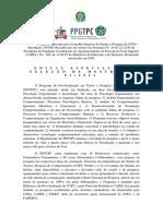 EDITAL DE SELEÇÃO 1º. 2021 Mestrado Versão Final Publicada 11.01.21