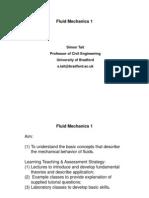 fluid mechanics 1 lecture 1 2009-10