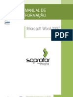 Manual de Word 2007 Soprofor