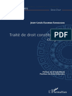 Traité de droit constitutionnel congolais