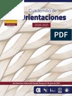 cuadernillo orientaciones 20-21