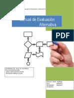 Manual de evaluación alternativa