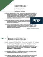 Presentación Balanceo de lineas