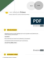 Qlik Set Analysis Primer