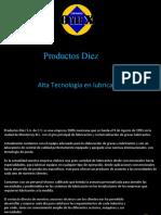 Presentacion Productos Diez 2011