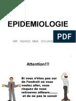 EPIDEMIOLOGIE  2020