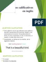 Presentación Adjetivos calificativos en inglés OFICIAL (1)