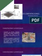03 - CIM superficiales