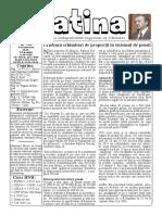 Datina - 14.01.2021 - prima pagină