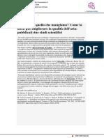Respiriamo quello che mangiamo? Pubblicati due studi scientifici su alimentazione e inquinamento - Vivereurbino.it, 13 gennaio 2021