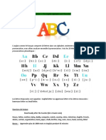 the english alphabet and phonetics