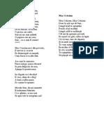 Poezii despre Mos Craciun