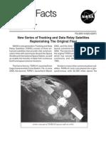 NASA Facts New Series of Tracking and Data Relay Satellites Replinishing the Original Fleet