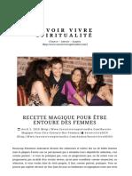 RECETTE MAGIQUE POUR ÊTRE ENTOURE DES FEMMES ⋆ Savoir Vivre Spiritualité.pdf